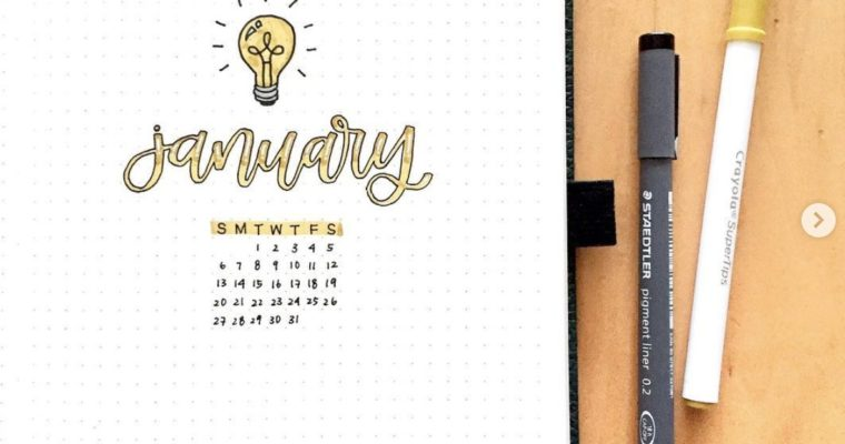 Yellow Bullet Journal Theme Ideas that You'll Love