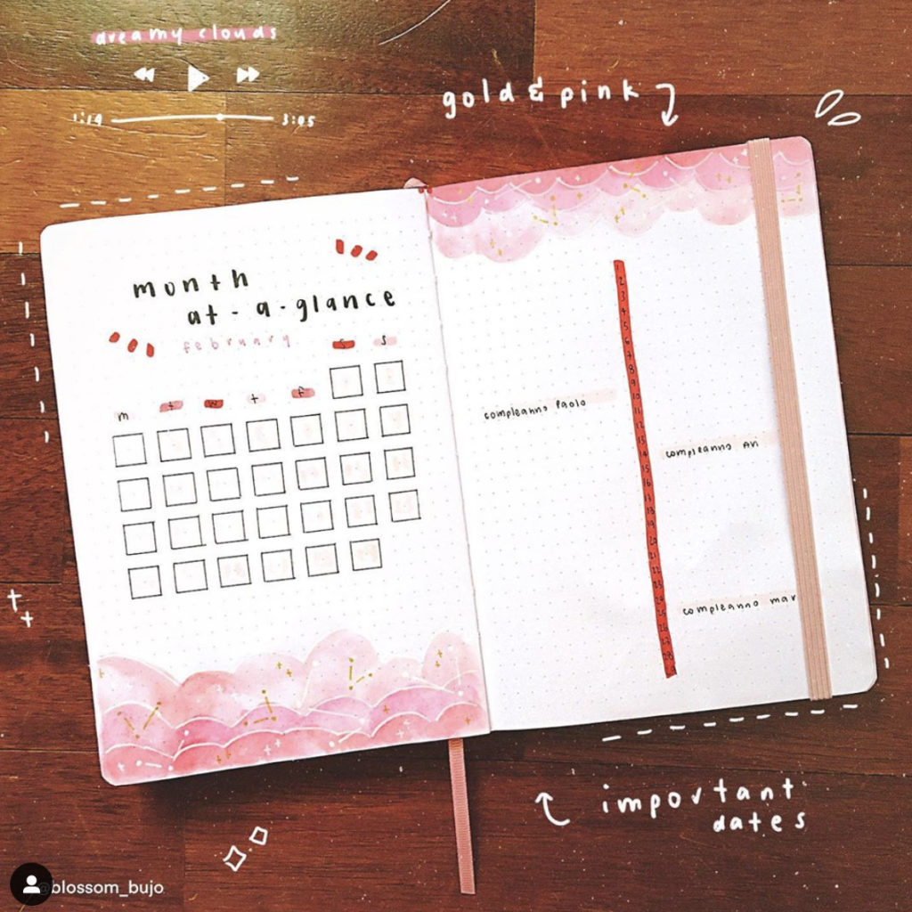 bullet-journal-pink-theme