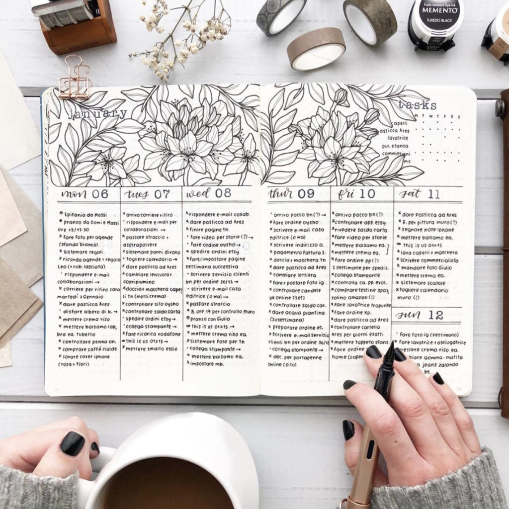 bullet journal weekly spread ideas you'll love