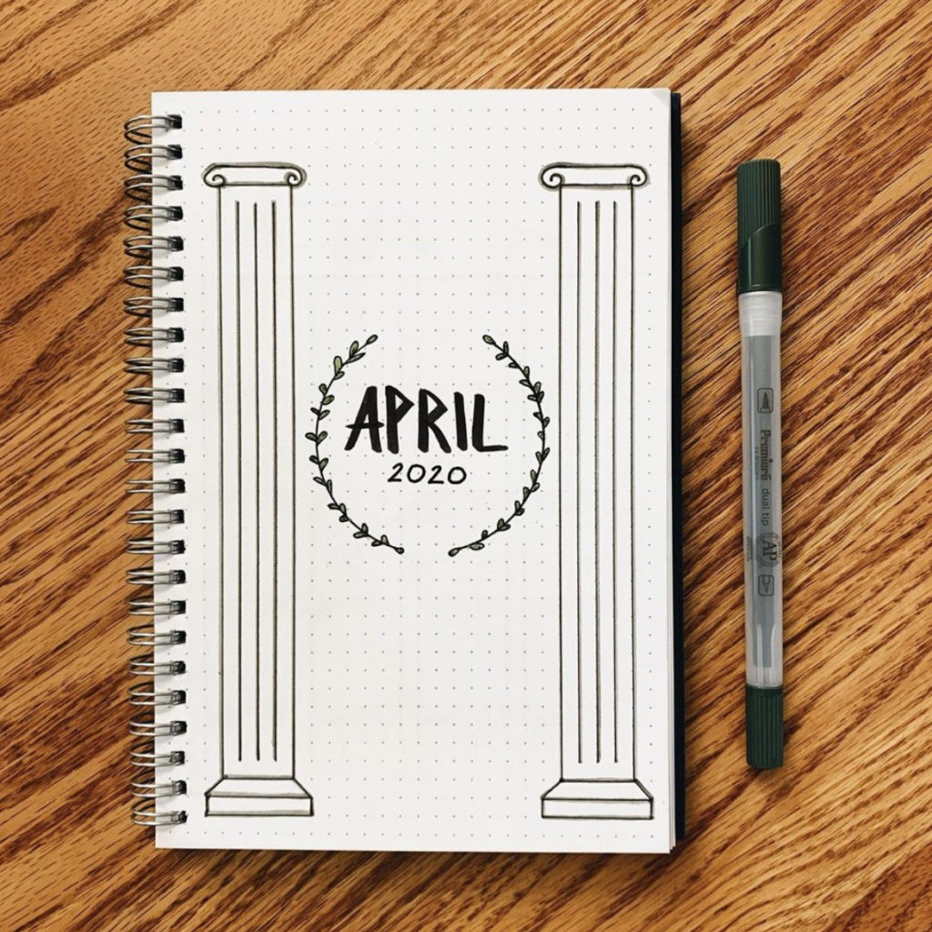30 latest and best APRIL bullet journal