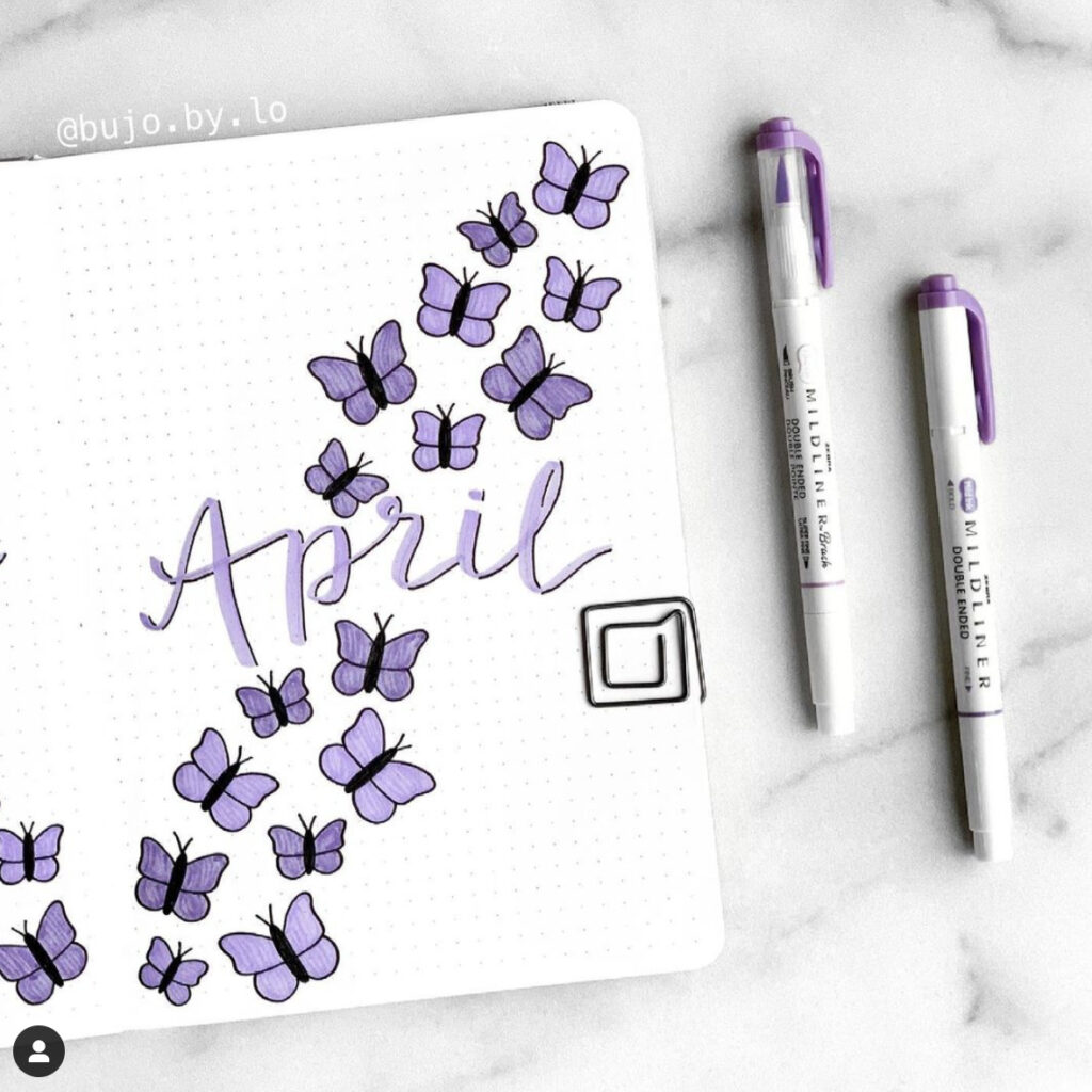 april-bullet-journal