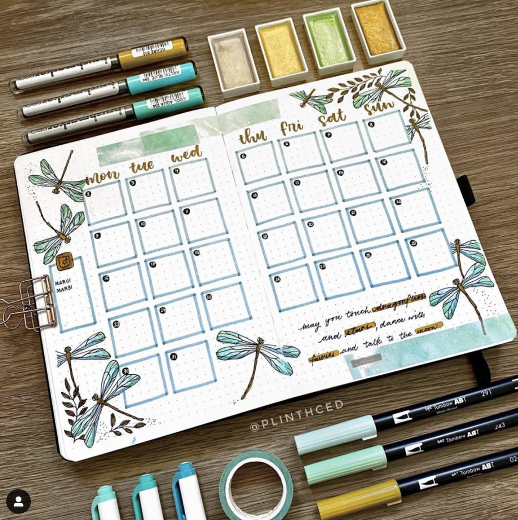 Find the best bullet journal ideas here for march. Get inspirations and recreate them for your own bujo! We update them regularly.