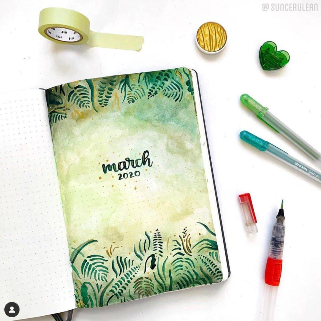 march-bullet-journal