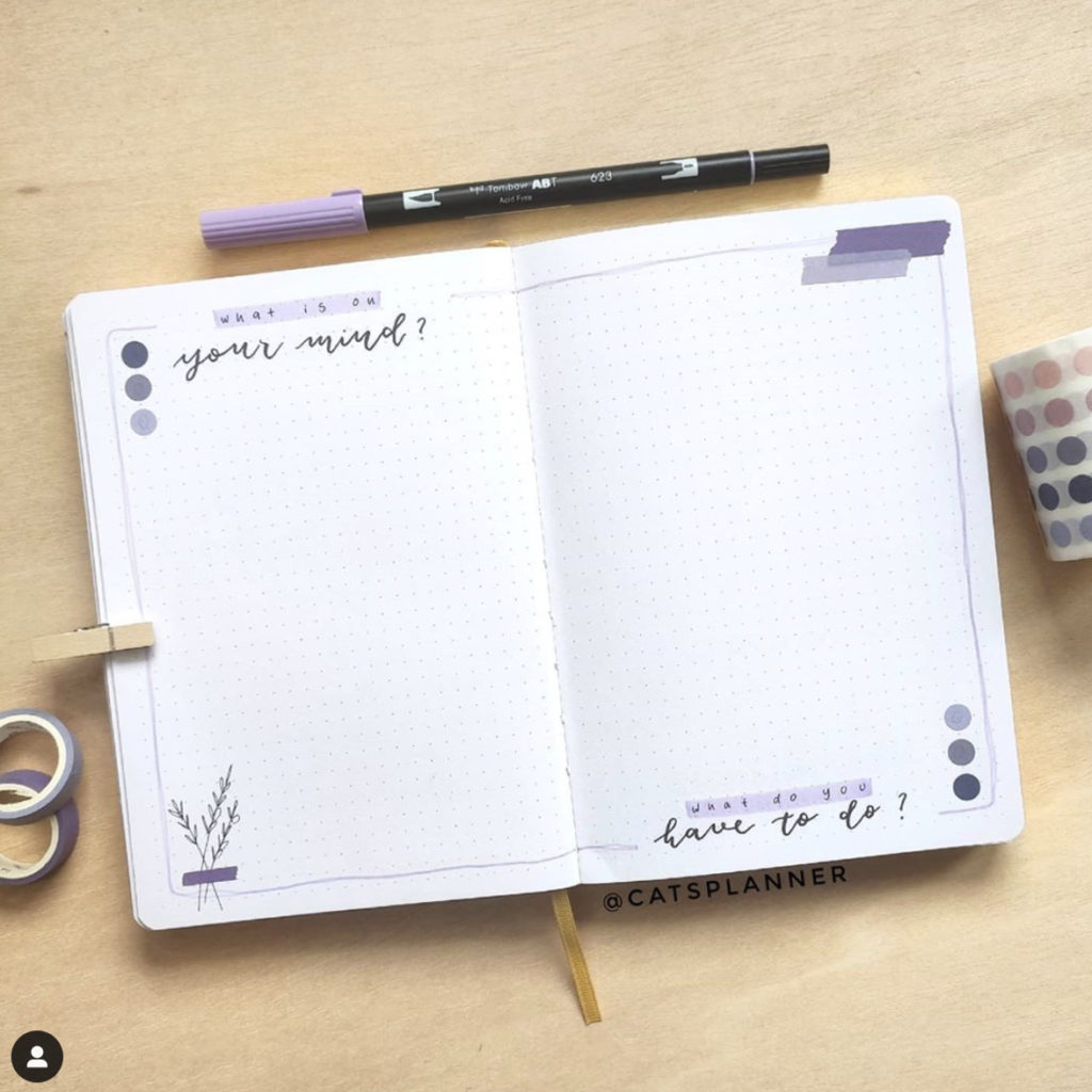 bullet journal list