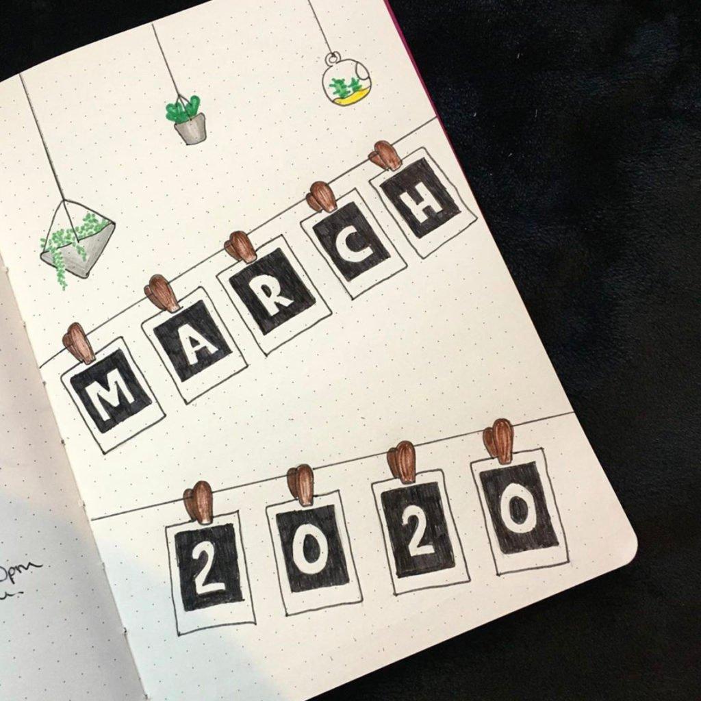 bullet journal 2020