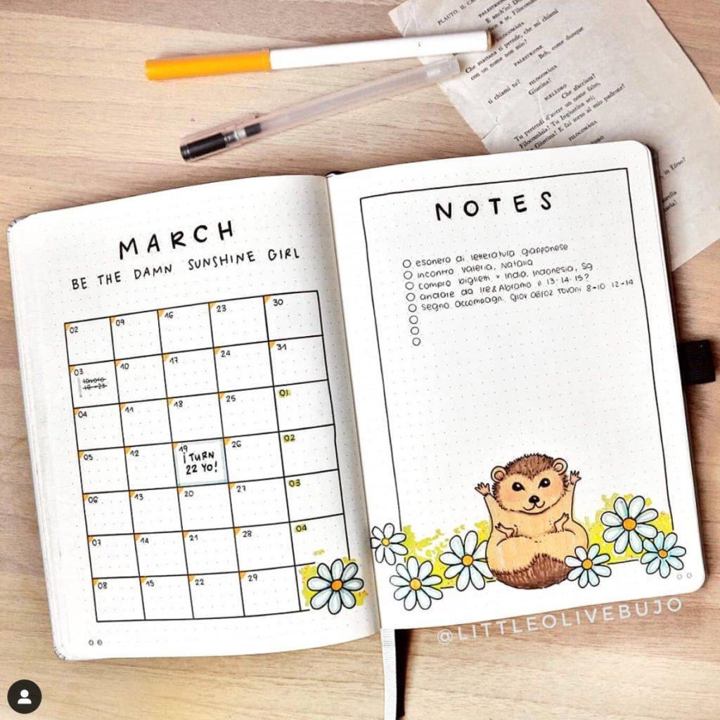 bullet journal cute