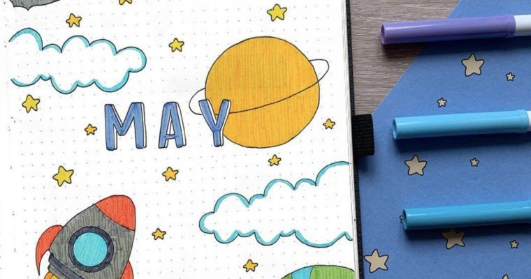 Best MAY Bullet Journal Ideas that You'll Love