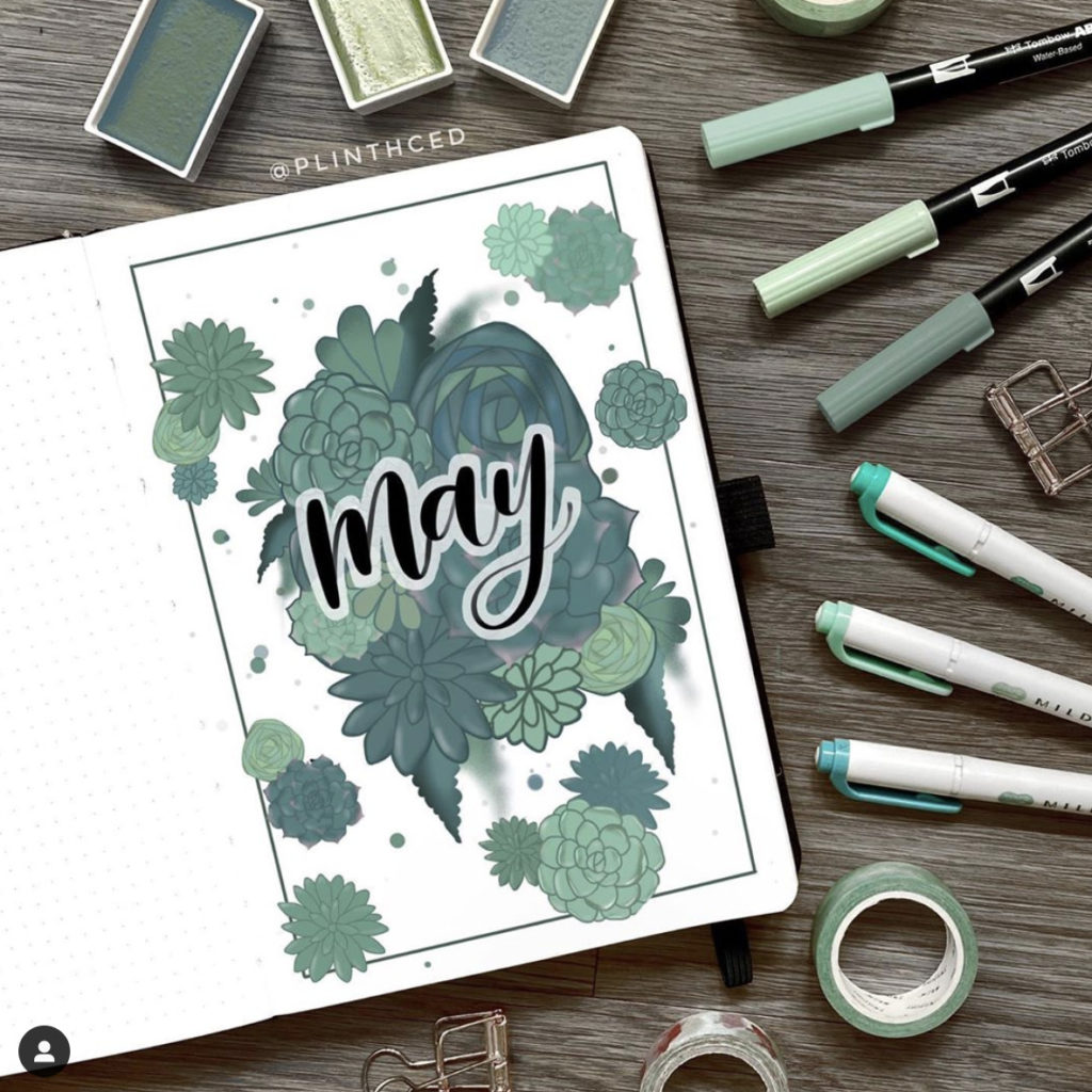 may bullet journal ideas