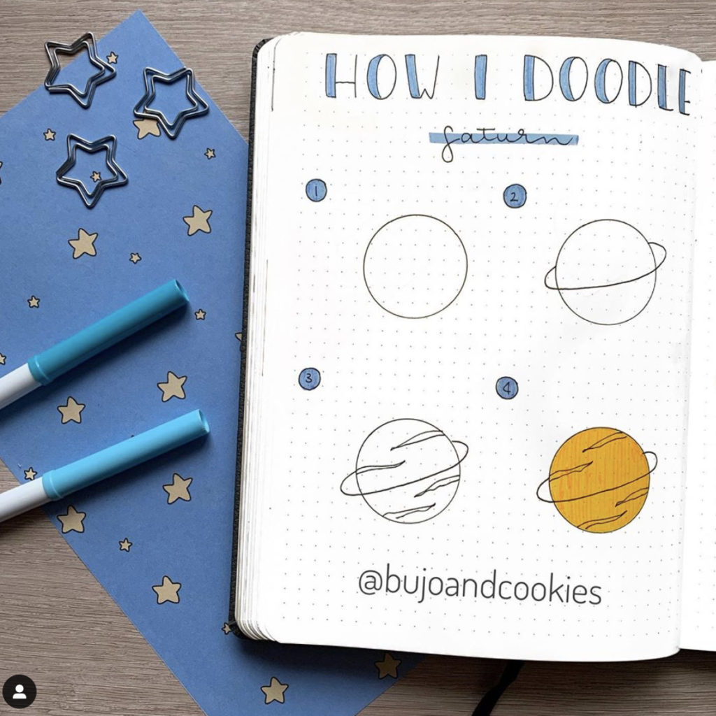 how to draw planet