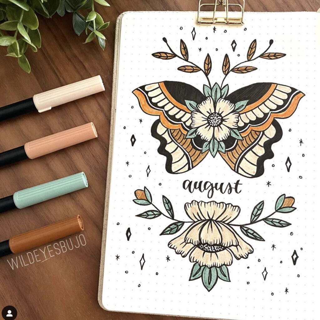 bullet-journal-butterfly