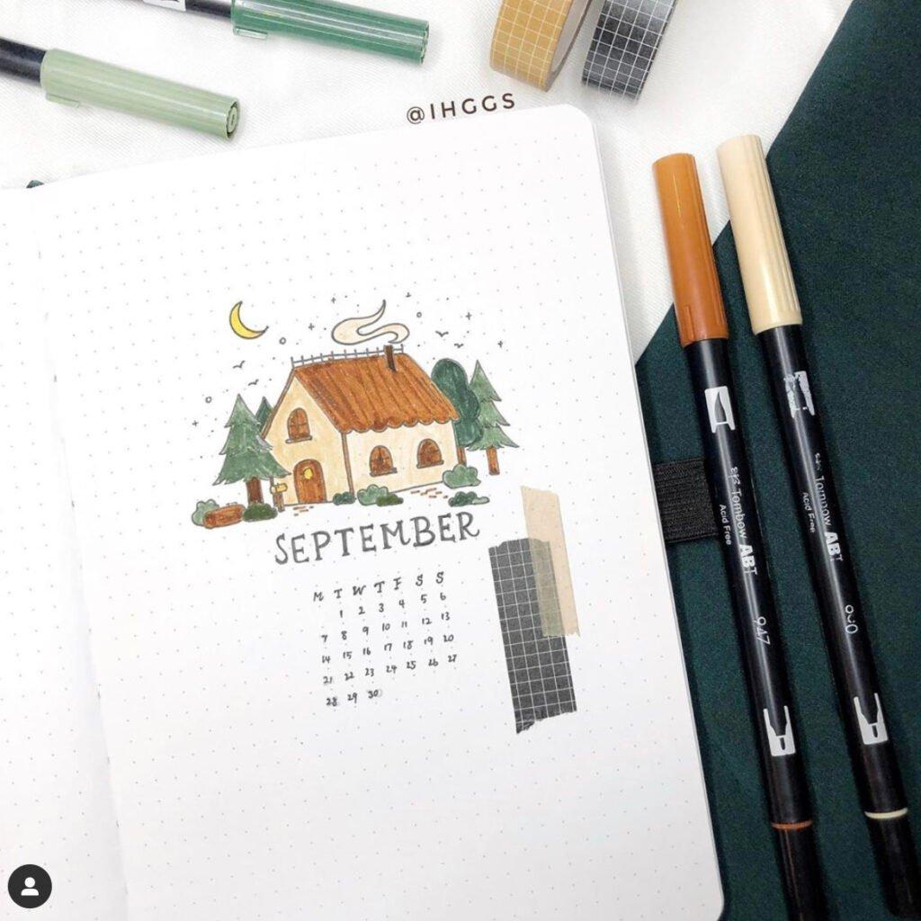 bullet journal september