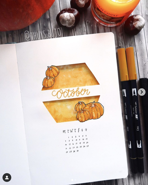 Best OCTOBER Bullet Journal Ideas that You'll Love